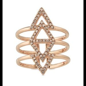 Price firm ⏪ Stella and Dot Pavé Spear Ring ⏩